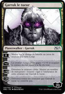 Grande Carte Oversized Oversized - Garruk le tueur