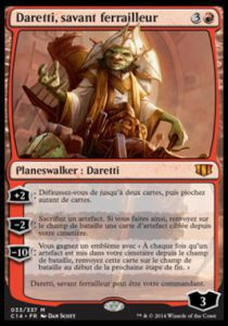 Grandes Cartes Oversized Magic the Gathering Oversized - Daretti, savant ferrailleur