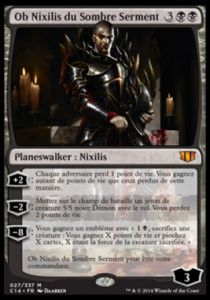 Grandes Cartes Oversized Magic the Gathering Oversized - Ob Nixilis du Sombre Serment