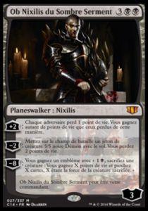 Grandes Cartes Oversized Magic the Gathering Oversized - Ob Nixilis du Sombre Serment
