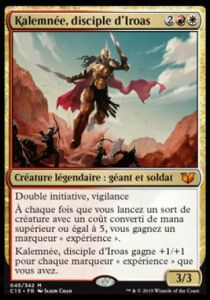 Grande Carte Oversized Magic the Gathering Oversized - Kalemnée, disciple d'Iroas