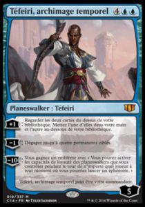 Grandes Cartes Oversized Magic the Gathering  Oversized - Téfeiri, archimage temporel