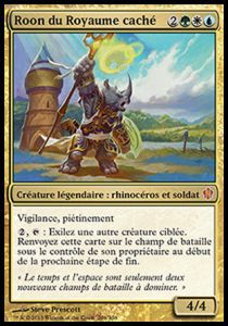 Grande Carte Oversized Magic the Gathering Oversized - Roon du royaume caché