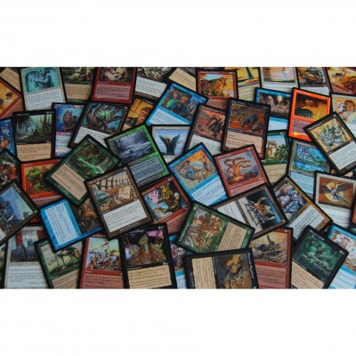 Lot de Cartes Magic the Gathering Lot de 100 Unco Communes vrac toutes éditions , LOT A