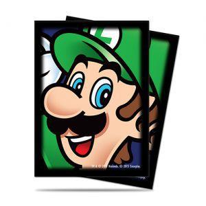 Protèges Cartes illustrées Accessoires Pour Cartes 65 Pochettes Ultra Pro - Nintendo - Luigi - ACC