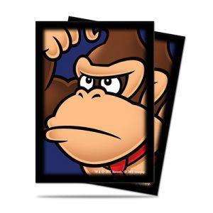 Protèges Cartes illustrées Accessoires Pour Cartes 65 Pochettes Ultra Pro - Nintendo - Donkey Kong - Acc