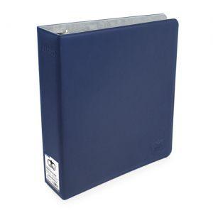 Classeurs et Portfolios  Gros Classeur - Collector Supreme - 3 Anneaux Xenoskin - Bleu Marine