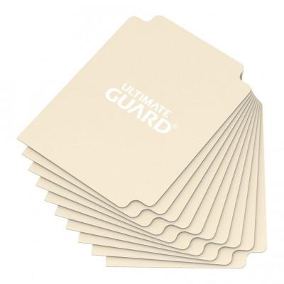 Boites de Rangements Card Dividers - 10 Séparateurs De Cartes - Sable