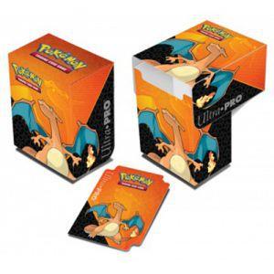 Boites de rangement illustrées Accessoires Pour Cartes Deck Box Ultra Pro - Pokemon - Dracaufeu - ACC