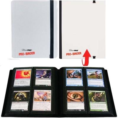 Classeurs et Portfolios Portfolio Ultra Pro - A5 Classeur à 20 Pages De 4 Cases [pro-binder] - Blanc
