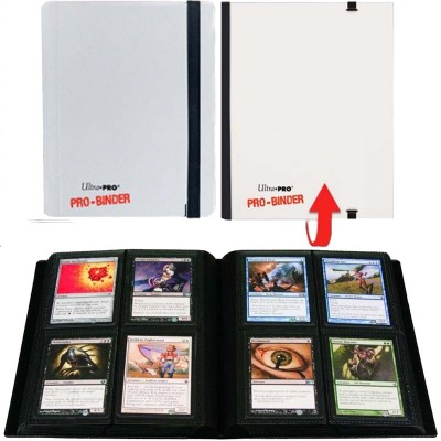 Classeurs et Portfolios Accessoires Pour Cartes Portfolio Ultra Pro - A5 Classeur à 20 Pages De 4 Cases [pro-binder] - Blanc