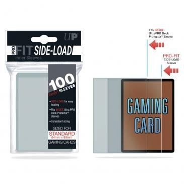 Protèges Cartes 100 Pochettes Ultra Pro - Pro Fit Sleeves Side Load - Taille Standard - Acc