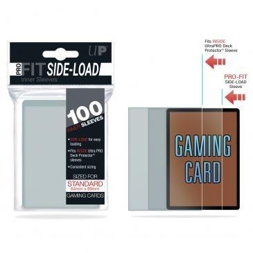 Protèges Cartes  100 Pochettes - Pro Fit Side Load
