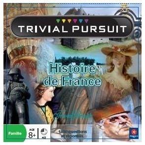 Autres jeux de plateau Trivial Pursuit - Histoire de France
