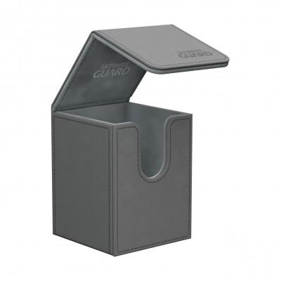 Boites de Rangements Accessoires Pour Cartes Deck Box Ultimate Guard - Skin - Gris - T1+