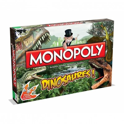 Autres jeux de plateau Dinosaures - Monopoly