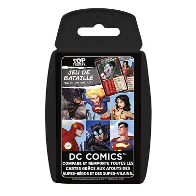 Autres petits jeux Petits Jeux DC Comics - Jeu de Bataille