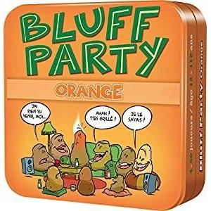 Autres petits jeux Petits Jeux Bluff Party Orange