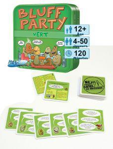 Autres petits jeux Petits Jeux Bluff Party Vert
