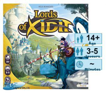 Thème : Médiéval Jeux de Plateau Lords of Xidit
