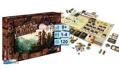 Autres jeux de plateau Jeux de Plateau Robinson Crusoe