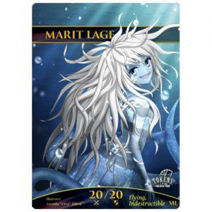 Tokens Magic Accessoires Pour Cartes Token/jeton foil - Marit Lage