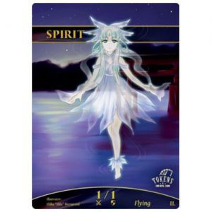 Tokens Magic Magic the Gathering Token/jeton Foil - Esprit (lac)