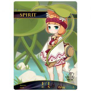 Tokens Magic Token/jeton Foil - Esprit (herbe)