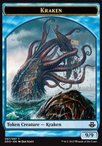 Tokens Magic Token/jeton - Duel Deck - Kraken