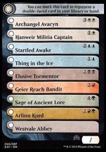 Token Magic Token/Jeton - Ténèbres sur Innistrad - Checklist Rares/ Mythiques