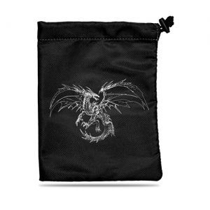 Dés et compteurs  Sac à Dés - Dice Bag - Black Dragon