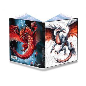 Classeurs et Portfolios Accessoires Pour Cartes Portfolio Ultra Pro - A5 - Black & Demon Dragon - ACC