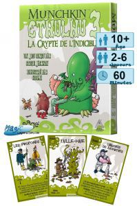 Munchkin Petits Jeux Munchkin - Cthulhu 3 - La Crypte de l'Indicible