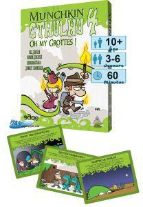 Munchkin Petits Jeux Munchkin - Cthulhu 4 - Oh my Grottes !