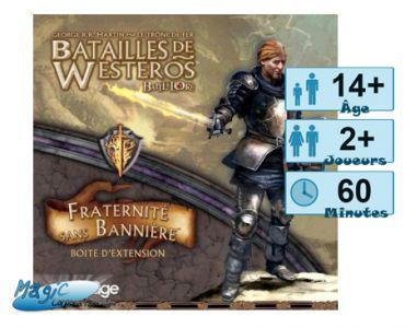 Thème : Médiéval Jeux de Plateau Batailles de Westeros - Fraternité sans Bannière - (Game of Thrones)