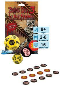 Incontournables Petits Jeux Zombie Dice 3- Le Bus Scolaire