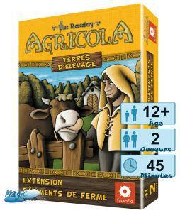 Autres jeux de plateau Jeux de Plateau Agricola - Ferme - Terres D'élevage
