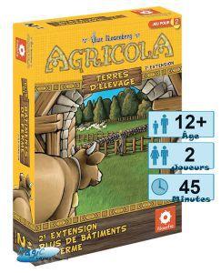 Autres jeux de plateau Jeux de Plateau Agricola - Plus De Batiments De Ferme
