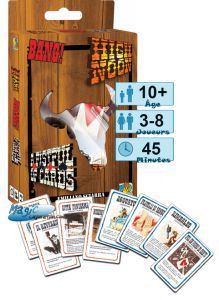 Incontournables Petits Jeux Bang : High Noon & A Fistful of Cards