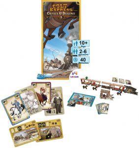 Autres jeux de plateau Jeux de Plateau Colt Express - Chevaux & Diligence