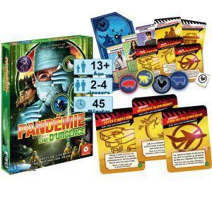 Autres jeux de plateau Jeux de Plateau Pandémie/Pandemic - Etat d'Urgence - Extension