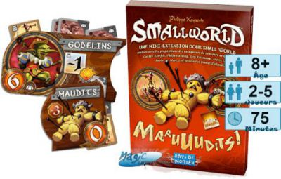 Smallworld Jeux de Plateau Smallworld - Maauuudits