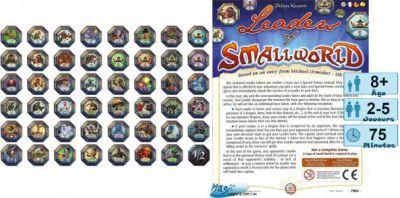 Smallworld Jeux de Plateau Smallworld - Leaders