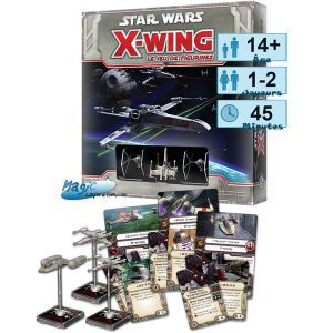 Thème : Espace Jeux de Plateau Star Wars X-wing : Le Jeu De Figurines