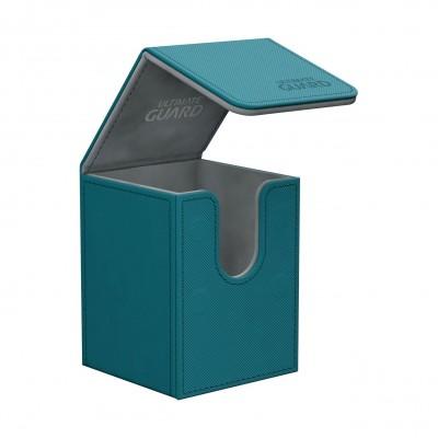 Boites de Rangements  Flip Deck Case 100+ - XenoSkin - Bleu Pétrole