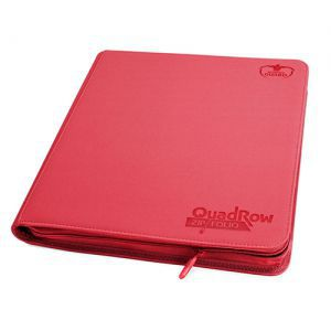 Classeurs et Portfolios Accessoires Pour Cartes Portfolio Ultimate Guard - Playset (12 Cases) Xenoskin Zip - Rouge - Acc