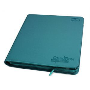 Classeurs et Portfolios Accessoires Pour Cartes Playset - 12 Cases - Xenoskin Zip - Bleu Pétrole