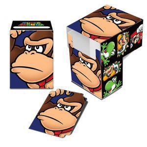 Boites de rangement illustrées Accessoires Pour Cartes Deck Box Ultra Pro - Nintendo - Donkey Kong - Acc
