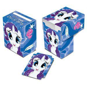 Boites de rangement illustrées  Deck Box - My Little Pony - Rarity