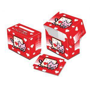 Boites de rangement illustrées Accessoires Pour Cartes Deck Box - Nyan Cat - Valent
